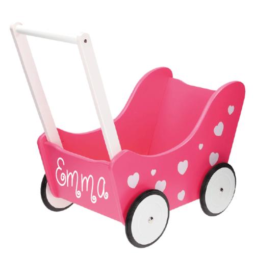 Kinderwagen roze Sassefras Meisjes Speelgoed