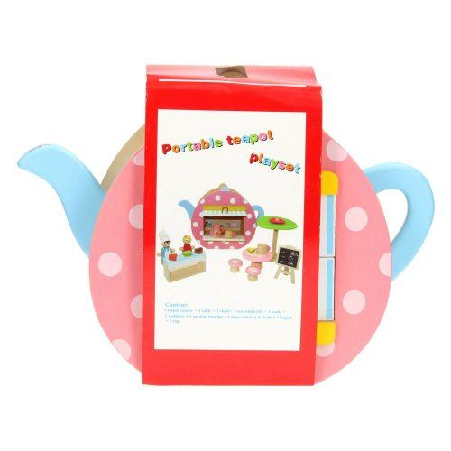 draagbare poppenhuisje Sassefras Meisjes Speelgoed