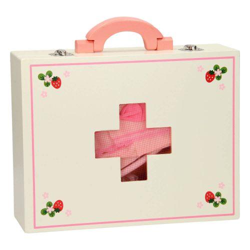 dokterskoffer met accessoires in koffer Sassefras Meisjes Speelgoed