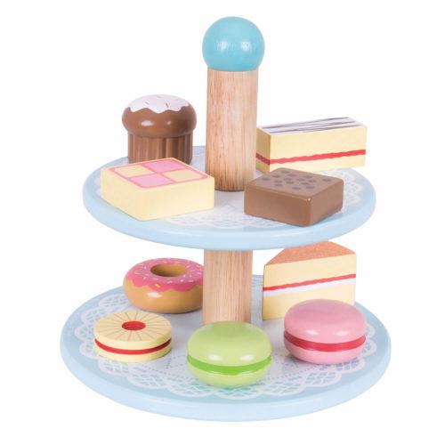 Toetjes Etagere Sassefras Meisjes Speelgoed