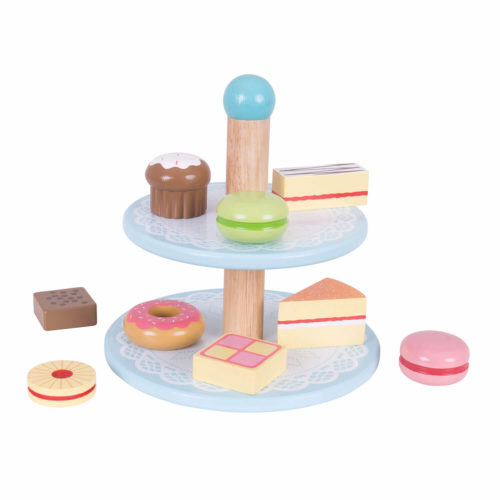 Toetjes Etagere op Tafel Sassefras Meisjes Speelgoed
