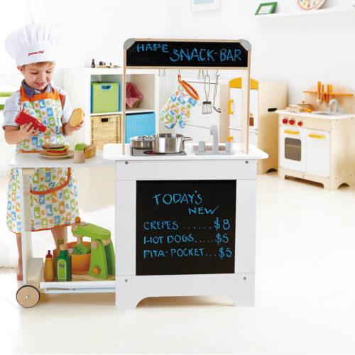 houten kinderkeuken kindje Sassefras Meisjes Speelgoed