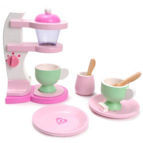 houten koffiezetapparaat Sassefras Meisjes Speelgoed