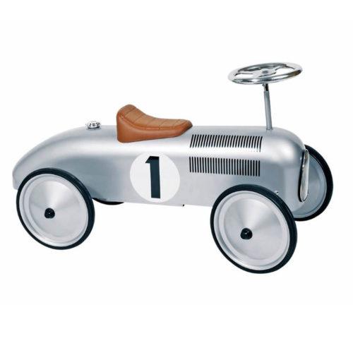 zilver retro loopauto