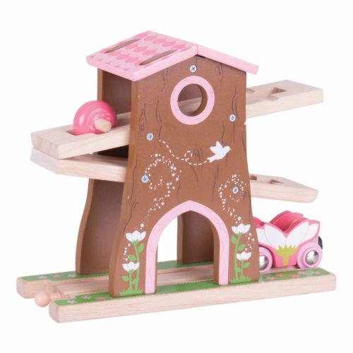 uitbreiding treinbaan boomhuis Sassefras Meisjes Speelgoed