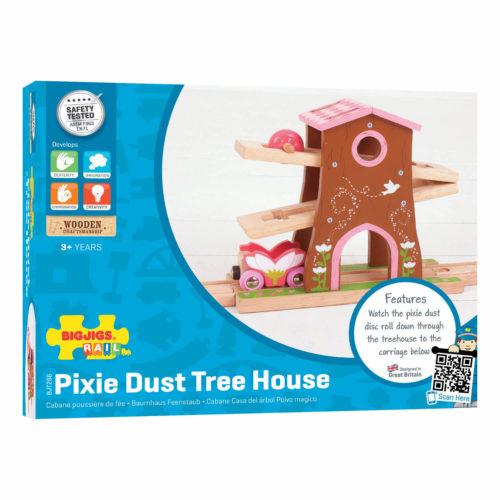 uitbreiding treinbaan boomhuis in doos Sassefras Meisjes Speelgoed