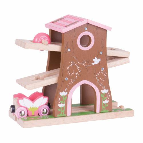 uitbreiding treinbaan boomhuis voor Sassefras Meisjes Speelgoed