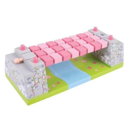 uitbreiding treinbaan touwbrug Sassefras Meisjes Speelgoed