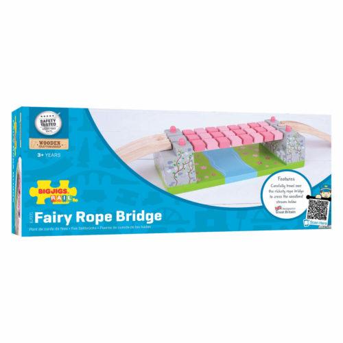 uitbreiding treinbaan touwbrug in doos Sassefras Meisjes Speelgoed