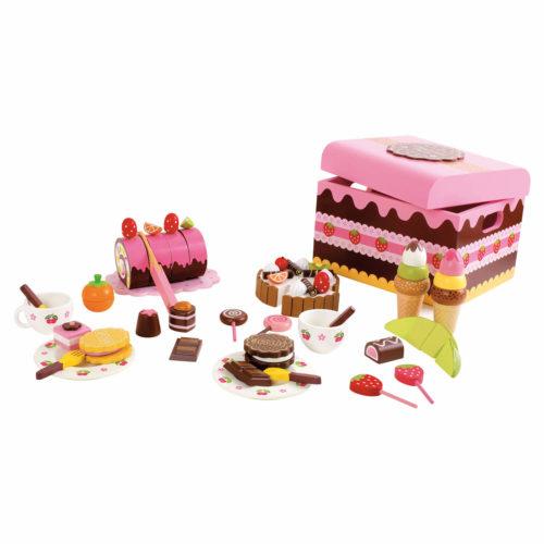 kistje met zoetigheid Sassefras Meisjes Speelgoed
