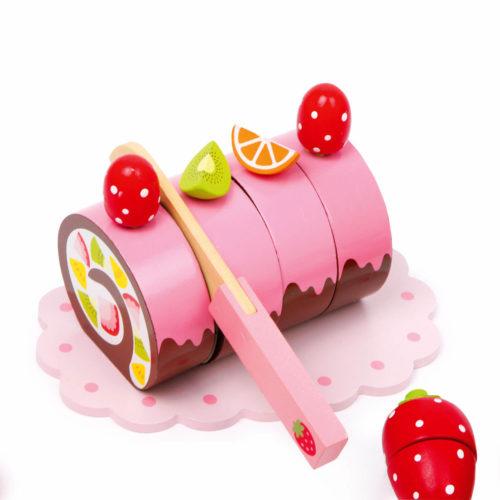 kistje met zoetigheid cakerol Sassefras Meisjes Speelgoed