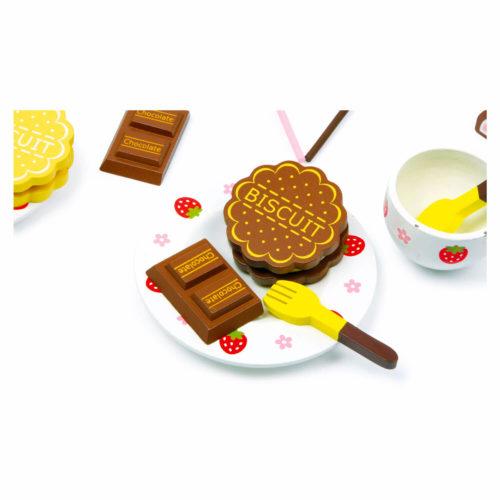 kistje met zoetigheid chocola Sassefras Meisjes Speelgoed