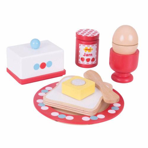 ontbijtset 3 Sassefras Meisjes Speelgoed