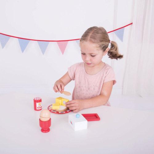 ontbijtset kindje Sassefras Meisjes Speelgoed