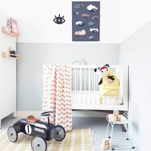 loopauto en slaapkamer