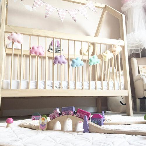 prinsessen trein met kamer Sassefras Meisjes Speelgoed