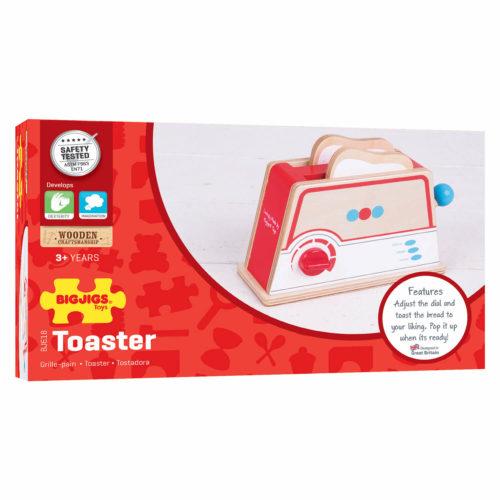 broodrooster rood in doos Sassefras Meisjes Speelgoed