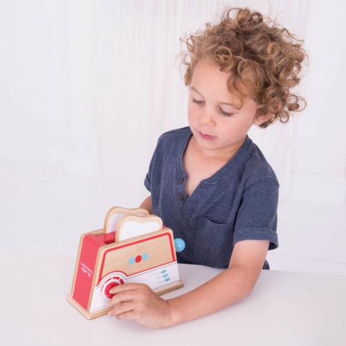 broodrooster rood kindje Sassefras Meisjes Speelgoed