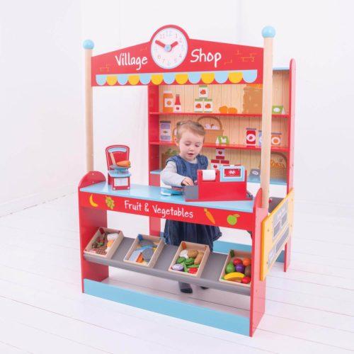 dorpswinkel kindje 1 Sassefras Meisjes Speelgoed