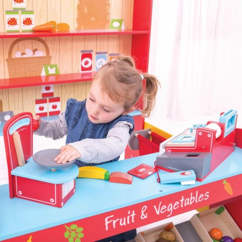 dorpswinkel kindje 2 Sassefras Meisjes Speelgoed