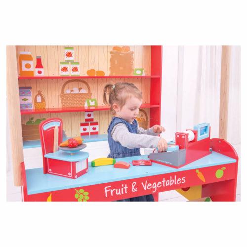 dorpswinkel kindje 3 Sassefras Meisjes Speelgoed