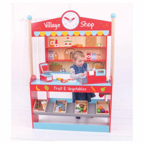 dorpswinkels kindje 4 Sassefras Meisjes Speelgoed