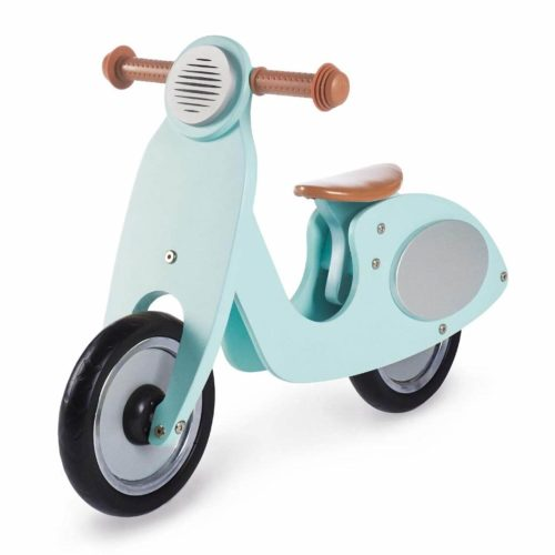 houten scooter mint Sassefras Meisjes Speelgoed