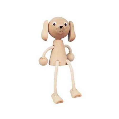 houten zitfiguur hond Sassefras Meisjes Speelgoed