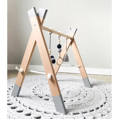 houten babygym handgemaakt Sassefras Meisjes Speelgoed