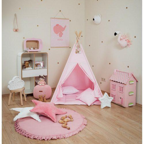 roze tipi tent sfeer Sassefras Meisjes Speelgoed