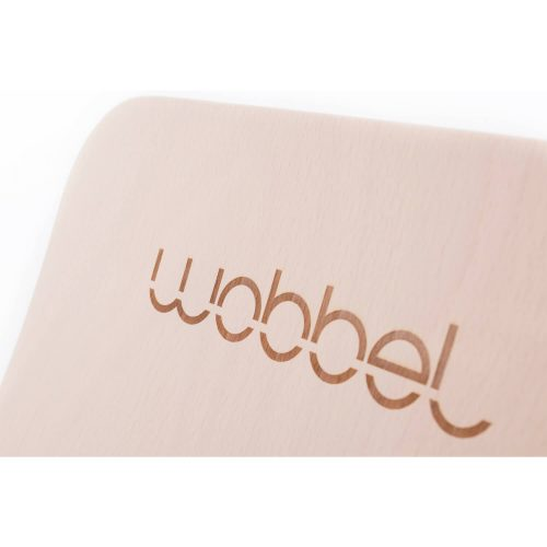 Wobbel original whitewash met vilt close-up Sassefras Meisjes Speelgoed