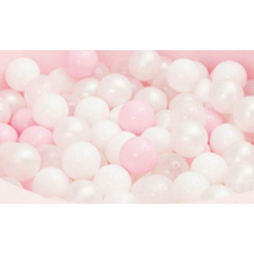 ball pit ballen roze-wit 50 stuks Sassefras Meisjes Speelgoed