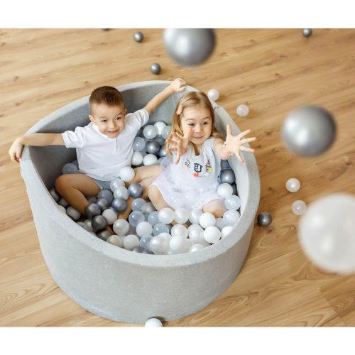 ball pitt zilver sfeer Sassefras Meisjes Speelgoed
