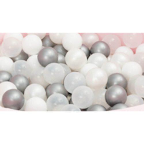 ballenbak ballen zilver 50 stuks Sassefras Meisjes Speelgoed