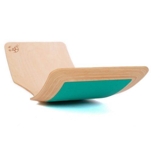 balansbord geolied met vilt liggend Sassefras Meisjes Speelgoed