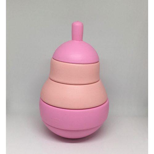 stapeltoren peer pink:dusty rose kleuren combinatie Sassefras Meisjes Speelgoed