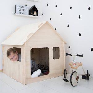 kinder speelhuisje voor binnen Sassefras Meisjes Speelgoed
