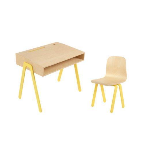 multiplex bureau voor kinderen met stoel Sassefras Meisjes Speelgoed