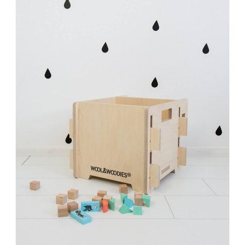 multiplex speelgoedbak Sassefras Meisjes Speelgoed