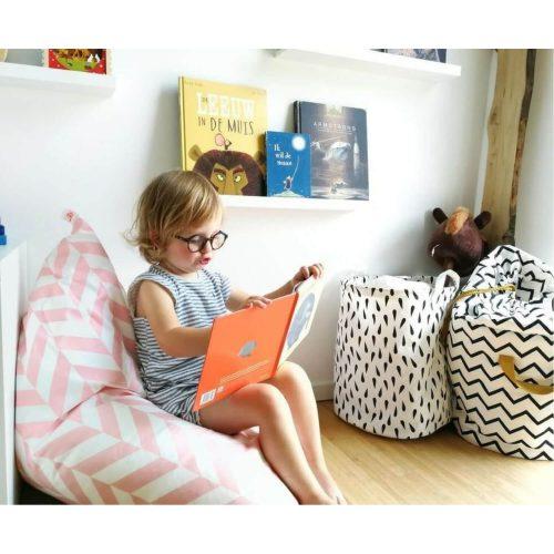 roze zitzak chillen Sassefras Meisjes Speelgoed