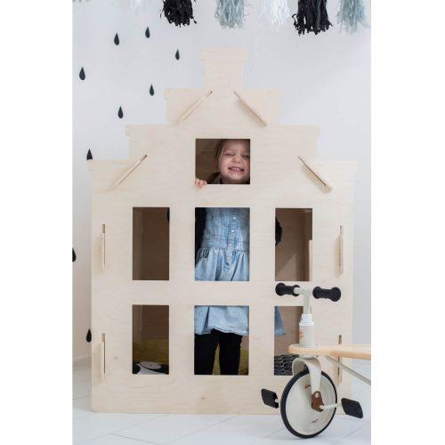 speelhuisje van multiplex kiekeboe Sassefras Meisjes Speelgoed