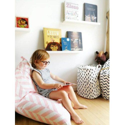 zitzak lekker lezen Sassefras Meisjes Speelgoed