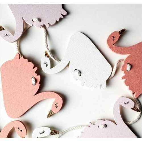 houten slinger zwaantjes Sassefras Meisjes Speelgoed