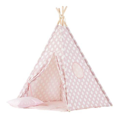 tipi tent roze met stippen Sassefras Meisjes Speelgoed