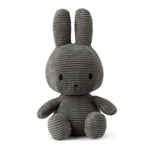 Nijntje knuffel grijs 33 cm voorkant Sassefras Meisjes Speelgoed