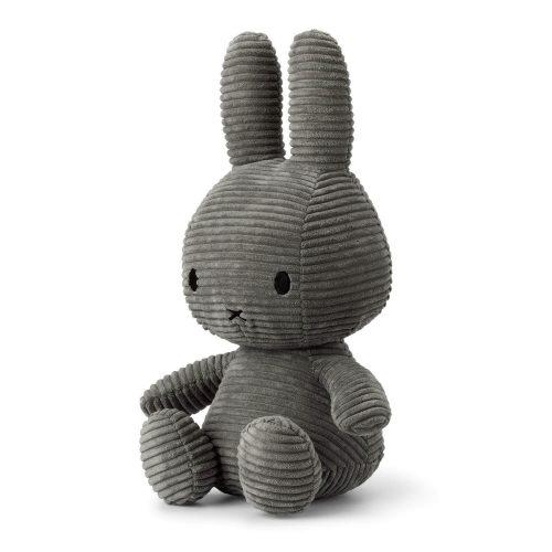 Nijntje knuffel grijs 33 cm zijkant Sassefras Meisjes Speelgoed