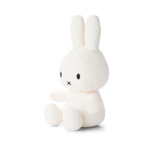 Nijntje knuffel wit 33 cm zijkant Sassefras Meisjes Speelgoed
