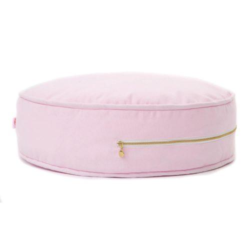 roze ronde poef Sassefras Meisjes Speelgoed