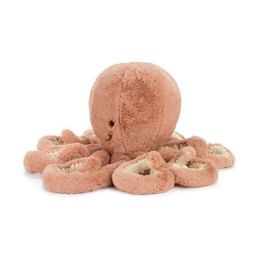 octopus knuffel van Jellycat Odell 14 cm zijkant Sassefras Meisjes Speelgoed