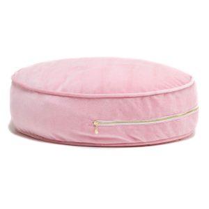 roze fluwelen poef Sassefras Meisjes Speelgoed